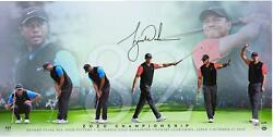Tiger Woods Signed 36 X 18 82 Photo - Limited Edition Of 82 - Upper Deck