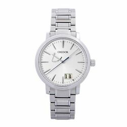 Pre-owned Credor Gclp995 Spring Drive Big Date