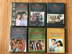 The Wonder Years Seasons 1-6 - Excellent Condition