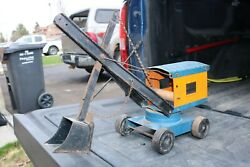 Structo Toys Hydraulic Shovel - Pressed Steel - Construction Truck