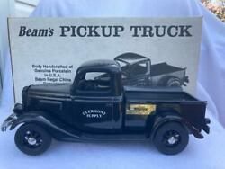 1935 Ford Clermont Pickup Truck Jim Beam Ky Whiskey Decanter Original Box -empty