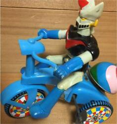Mazinger Z Soft Vinyl Figure In Tricycle Vintage Toy Maid In Japan About 20cm