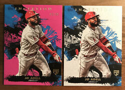 2021 2 Inception Jo Adell Rookie Rc Pink 80/99 Sp Plus Base 2 Card Lot 📈