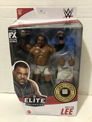 Wwe Mattel Elite Collection Series 82 Keith Lee White Gear Chase Variant Figure