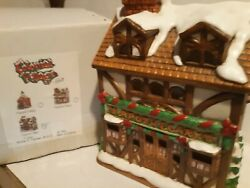 Christmas Colonial Village By Lefton-brenner's Apothecary