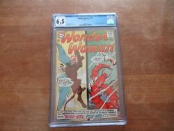 Wonder Woman 147 Dc Silver Age Cgc 6.5 Wonder Girl Cover And Story Mer-boy