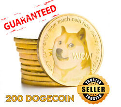 200 Dogecoin Doge Cryptocurrency Aka Dog Coin Mining Contract 24 Hours