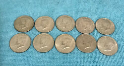 Kennedy 40 Silver Half Dollars 5 Face Value Mixed Dates