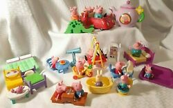 Peppa Pig Playset - Assorted Figures With Accessories Teapot With Pouring Sounds