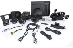 Rockford Fosgate Yxz-stage4 400w Stereo, Front Lower Speaker, Subwoofer And Rea...