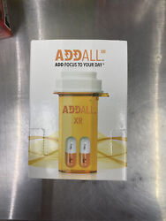 Addall Xr Capsules Energy Focus And Mood Enhancer 750mg 12 Packs 24 Pills Total