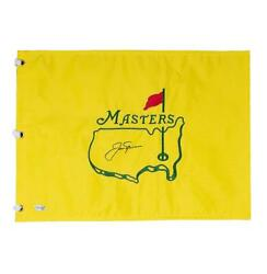 Jack Nicklaus Signed Masters Pin Flag Autograph