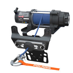 Polaris 2882240 4500lb Pro Hd Winch With Rapid Rope Recovery 4 Rzr 1000 900