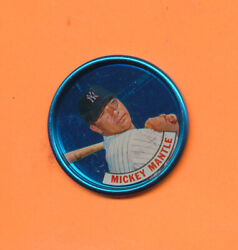 Blank Back Error 1965 Old London Coin Mickey Mantle No Print On Back V-tphlc-abc
