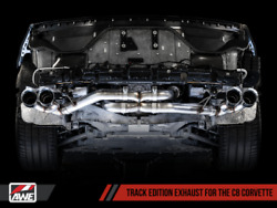 Awe Tuning Track Edition Exhaust 2020-2021 Fits Chevy Corvette Stingray   Silver
