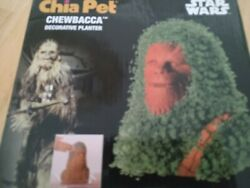 New Official Star Wars Chewbacca Chia Pet Decorative Planter Licensed-read