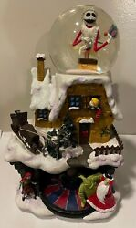 Super Rare Nightmare Before Christmas Limited Edition Musical Snow Globe