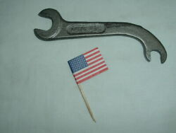 Vintage Ihc 2737-d Curved Tractor Wrench / International Harvester Farm Tool