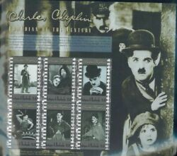 Charles Chaplin Comedian Of The Century Souvenir Stamp Antigua £3.55 Cost Mint