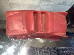 Vtg F And F Mold And Die Works Plastic Toy Car Dayton Ohio Red Twisted Car Plymouth