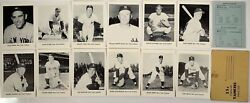 1963 Jay Publishing New York Yankees Black And White 5 X 7 Complete Team Set