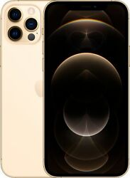 Apple Iphone 12 Pro 128gb Gold Lte Cellular Straight Talk/tracfone Mglq3ll/a -