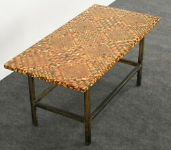 Piero Fornasetti Coffee Table Occasional Table Side Table, Italy, 1950s