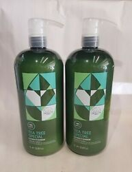 ☆ 2 Lot Paul Mitchell Tea Tree Special Conditioner Liter 33.8oz ☆ Best Deal ☆