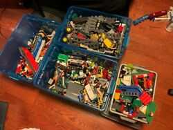 Lego City Sets Used Lot, Large Lot Of Legos, 93.2 Pounds With Minifigures
