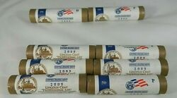 2009 8 Penny Rolls 3 D 3 P Of Professional Life 1 P And 1 D Presidency 08