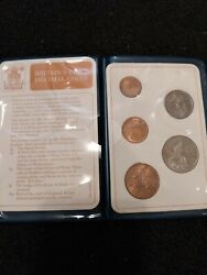 Mint Simply Rare 1/2 1 And 2 New Pence Coin From 1971 With Elizabeth Ii