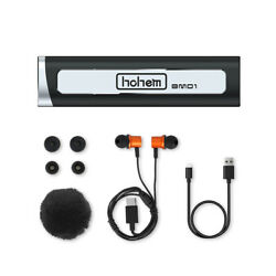 Hohem Bm01 Wireless Lavalier Microphone W Wind Muff Caps For Video Vlog Record