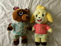 🔥animal Crossing New Horizons Tom Nook And Isabelle Build A Bear Gift Bundle🔥