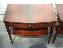 2 Mersman 1950s Side Tables - Mid Century Modern Design - Very Good Condition