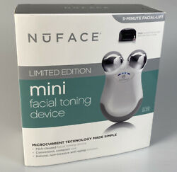 Nuface Mini Facial Toning Device Limited Edition New