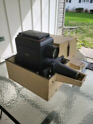 Vintage Bausch And Lomb Magic Lantern Slide Projector