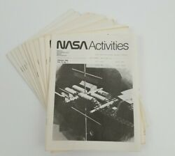 1982 Nasa Activities Publications Volume 13 - All 12 Monthly Issues