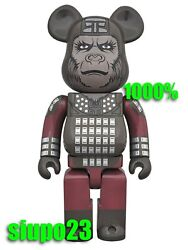 Medicom 1000 Bearbrick The Planet Of The Apes Be@rbrick General Ursus