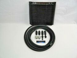 Automatic Transmission Cooler Line Kit -6an Black Braided Hose 4l80e With Cooler