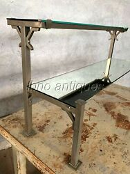 1940s General Store / Candy Store Table Top Nickeled Mirrored Display Rack. L@@k