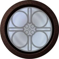 12 Inch Diameter Home Theater Vision Port Window With 7 Powder Finishes