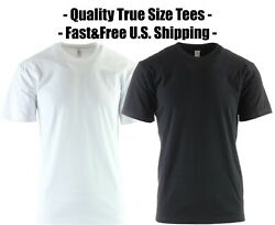 Big And Tall T-shirts Heavyweight Oversized Solid Tees All Pro Size - 5xl 6xl 8xl