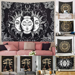 Tapestry Mandala Wall Hanging Indian Hippie Psychedelic Tapestry Bohemian Decor