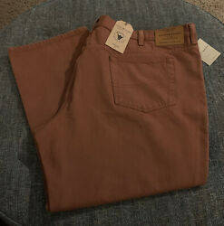 Nwt Lucky Brand Athletic Fit Jeans Bigandtall Size 48 X 30 Copper Stretch 135 R6