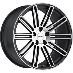 4 Staggered 19x8.5 / 19x9.5 Tsw Crowthorne Gray 5x120 +30/+35 Wheels Rims