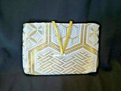 Ladies Gold and Silver Evening Purse 1960#x27;s Asian $3.89