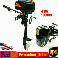 Dd-48v-1000w Outboard Motor Boat Parts Engine Brushless No-load Speed 3000 Rpm