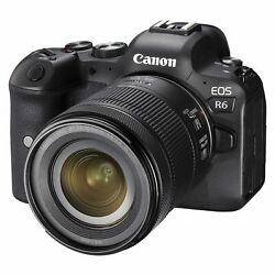 Canon Eos R6 Rf 24-105mm F/4-7.1 Is Stm Kit Multi Ship From Eu Authenti
