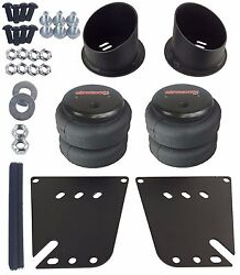 Air Ride Front Suspension Brackets And 2500 Air Bags Kit For 1958-64 Chevy Impala
