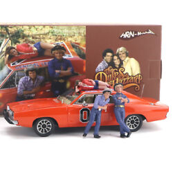 1/43 Hrn-model 1969 Dodge Charger General Lee Car Model Resin Replica Collection